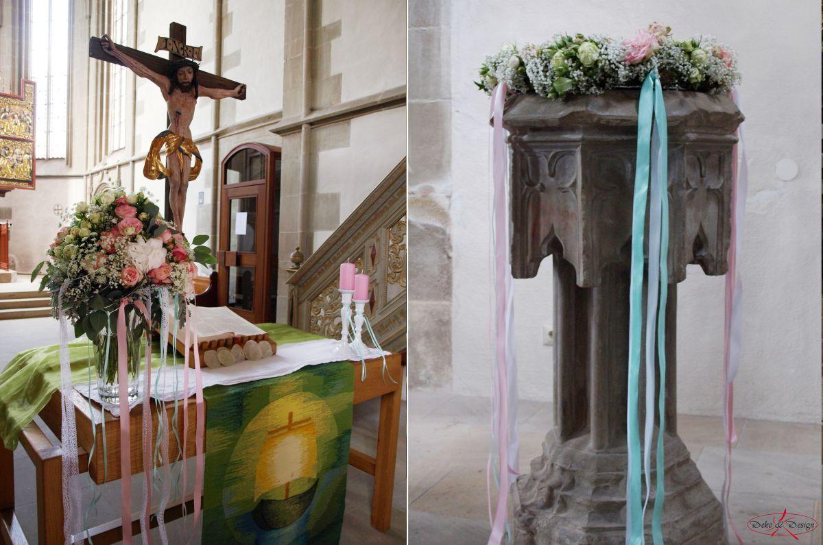 Kirchendeko von Deko & Design Weinsberg bei Heilbronn