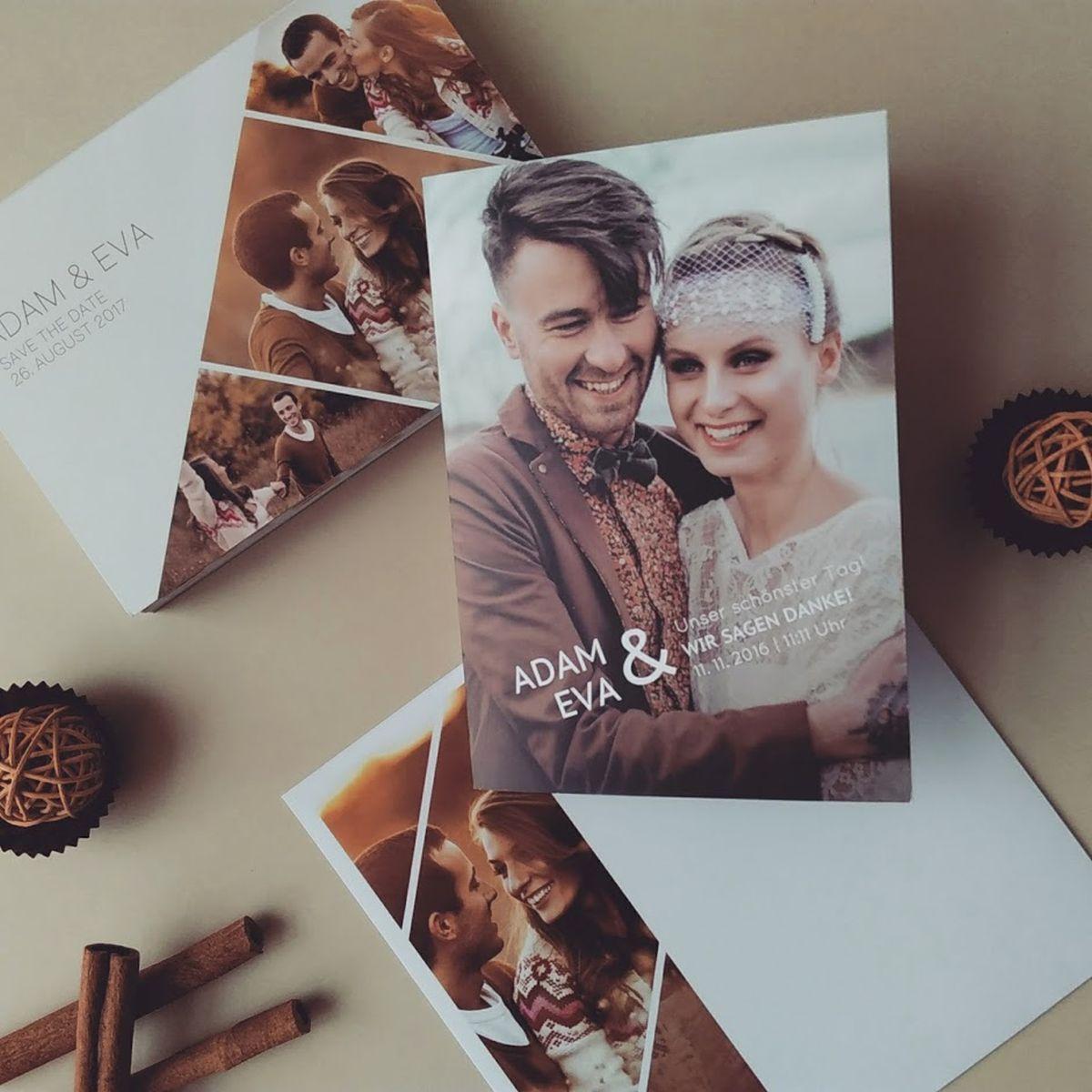 Hochzeitseinladung von sendmoments