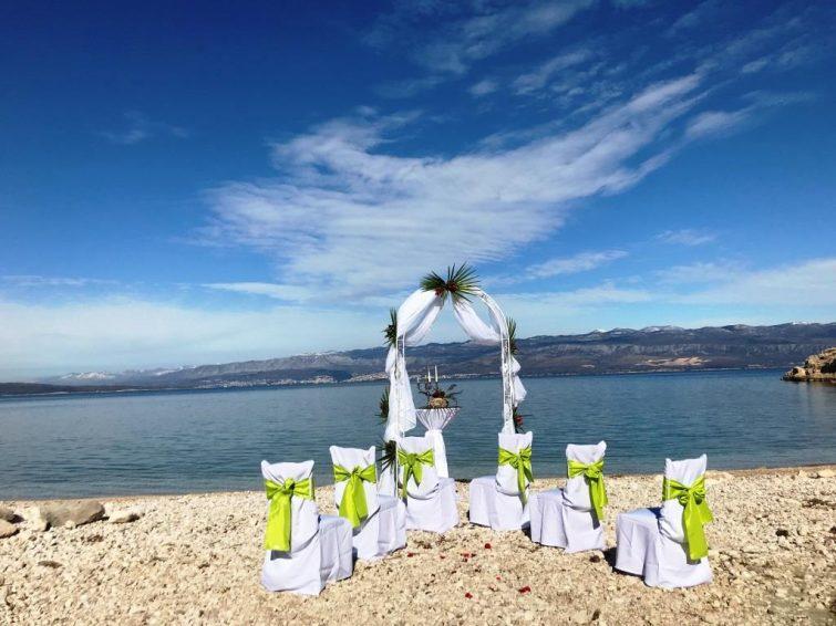 Hochzeit Am Meer Auf Der Schonen Insel Krk Kroatien Weddchecker